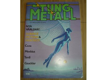 TUNG METALL NR 4 1988 Fint skick