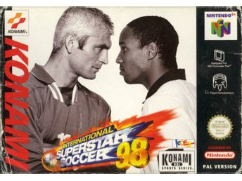 International Superstar Soccer 98 - Nintendo 64