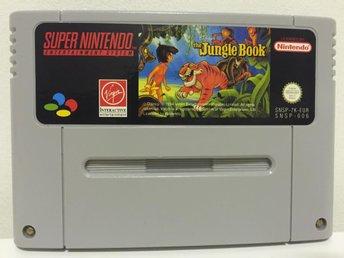 The Jungle Book - Nyskick - Super Nintendo - Svensksålt