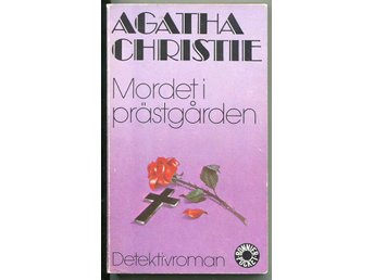 Agatha Christie : Mordet i prästgården Bonnier förlag 1984 - Motala - Agatha Christie : Mordet i prästgården Bonnier förlag 1984 - Motala