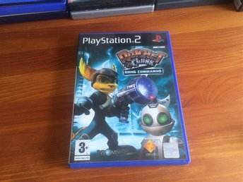 PS2: Ratchet & Clank 2 Going Commando - komplett. PlayStation 2 PAL