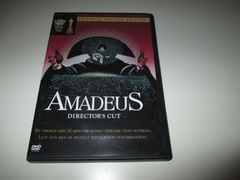 Amadeus - 2 disc Special Edition - Utgått/OOP - Stockholm - Amadeus - 2 disc Special Edition - Utgått/OOP - Stockholm