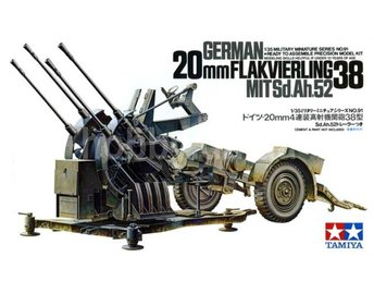 Tamiya 1/35 German 2cm FLAK vierling 38