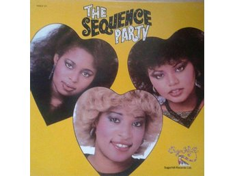 The Sequence title* The Sequence Party* Funk/Soul Disco Hip-Hop Swe LP