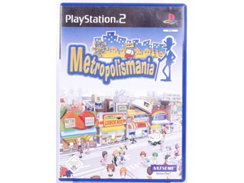 Metropolismania - PS2 - PAL (EU)