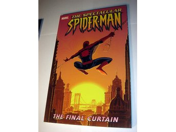 SPIDER-MAN  THE FINAL CURTAIN  MARVEL USA   NY OLÄST  2005