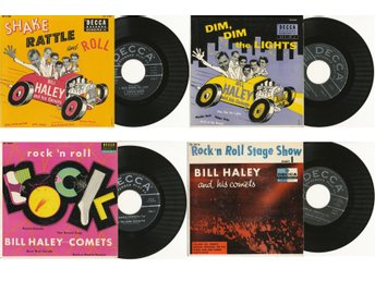 Javascript är inaktiverat. - Berlin - 14 BILL HALEY EP's US EP DECCA-Collection in Mint bis Mint- condition DECCA Number & Titles see Photos Postage is extra - Berlin