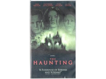 The Haunting. Liam Neeson, Catherine Zeta-Jones VHS