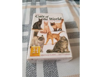 Cats of the world , Katt kortlek , kortlek , kattmotiv , Heritage