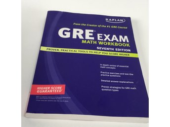 Mattebok, Gre Exam, Math workbook