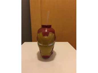 Captain America Civil War IronMan huvud Drick kopp promotion Marvel