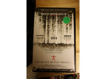 VHS - The Blair Witch Project, skräck, hyrfilm, New Star, 1999, 90 min
