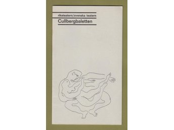 Cullbergbaletten 1968. Program.