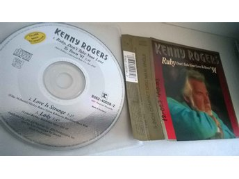 Kenny Rogers Ruby, Don't take your love / To town single CD