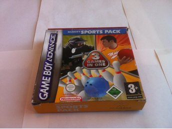 GBA: Majesco's Sports Pack - 3 Games in One