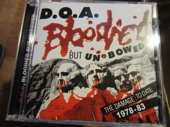 doa-bloodied but unbowed 1978-83