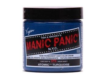 Manic Panic Atomic Turquoise Tuff Hårfärg Snabb Leverans - Träslövsläge - Manic Panic Atomic Turquoise Tuff Hårfärg Snabb Leverans - Träslövsläge