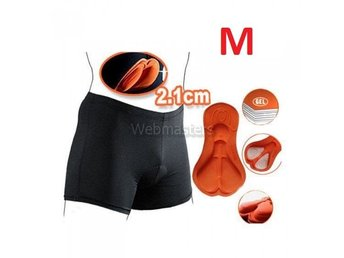 Cykelunderkläder Gel 3D Vadderade shorts Orange Medium