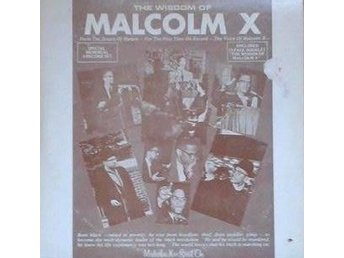 Malcolm X title* The Wisdom Of Malcolm X *Speech. Political 3 X LP
