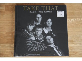 Take That Robbie Williams Back For Good Ny Inplastad!Bok+dvd