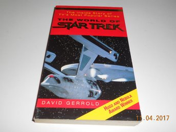 THE WORLD OF STAR TREK David Gerrold, Pocket Virgin USA