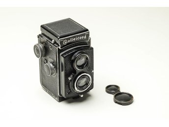 Rolleicord  Vintage / Collectable / Early Model Tessar 75mm f/3.5