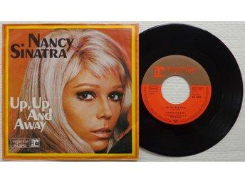 "NANCY SINATRA 'Up, Up And Away' 1968 German 7"" - Bröndby - NANCY SINATRA 'Up, Up And Away' 1968 German 7"" - Bröndby"