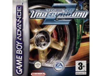 GBA - Need for Speed Underground 2 (Komplett) (Beg)