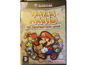 PAPER MARIO THE THOUSAND-YEAR DOOR Nintendo CameCube