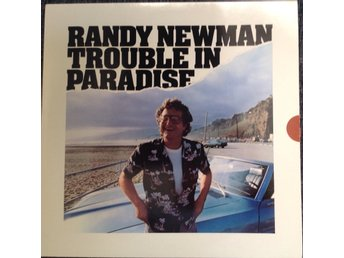 Randy Newman LP Trouble In Paradise