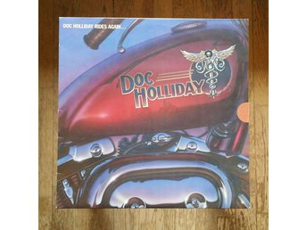 Doc Holiday, Doc Holiday Rides Again, 1981, Record = VG+/Excellent