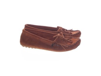 Minnetonka, Loafers, Strl: 40, Brun, Skinnimitation