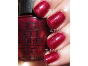Opi nagellack 15 ml Red fingers and mistletoes