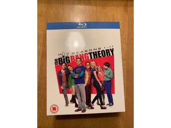 THE BIG BANG THEORY blu-raybox säsong 1-11