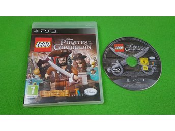 LEGO Pirates of the Caribbean NORDISK UTGÅVA Ps3 Playstation 3