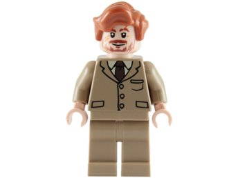 Lego - Harry Potter  - Figurer - Professor Lupin Brun 2010 NY
