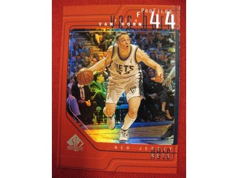 KEITH VAN HORN - PROFILES - 1997-98 SP AUTHENTIC - NEW JERSEY NETS - BASKET