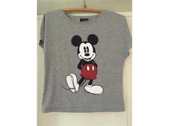 Top tshirt tröja kortärmad ny Musse pigg Disney grå festival s xs 34 36 - Vissefjärda - Top tshirt tröja kortärmad ny Musse pigg Disney grå festival s xs 34 36 - Vissefjärda