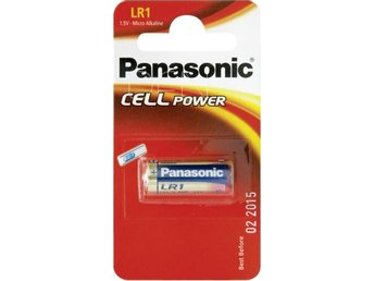 1 Panasonic LR 1 Lady