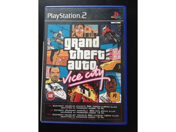 GTA: Vice City - Playstation 2