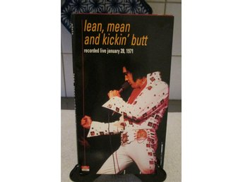 ELVIS PRESLEY - LEAN, MEAN AND KICKIN' BUTT 1971, ROCKABILLY, POP