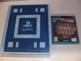 Book of spells - Wonderbook - PS3 - Västervik - Book of spells - Wonderbook - PS3 - Västervik