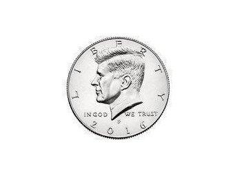 2016-P - Kennedy half dollar - Ocirkulerat! Topp Skick! - Gråbo - 2016-P - Kennedy half dollar - Ocirkulerat! Topp Skick! - Gråbo