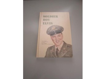 Soldier boy Elvis Presley signerad Bill E Burk