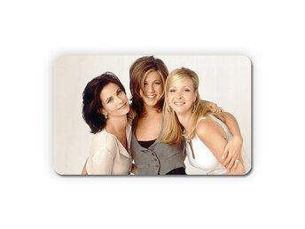 Friends Jennifer Aniston Courteney Cox Lisa Kudrow Kylskåpsmagnet