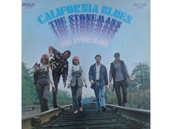 The Stonemans  titel*  California Blues* Country, Bluegrass US LP