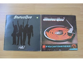 LP. Vinyl. Status Quo. If you can´t stand the heat & Hello