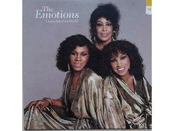 The Emotions title*  Come Into Our World* Disco EU LP