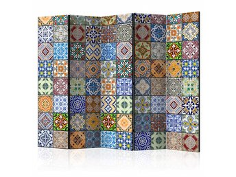Rumsavdelare - Colorful Mosaic II Room Dividers 225x172