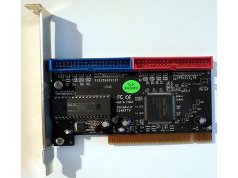 ST Lab A-132 2-Port PATA IDE PCI Expansion Card